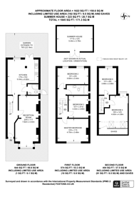 Large floorplan for Seaforth Avenue, Motspur Park, KT3