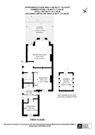 Large floorplan for Tanfield Avenue, Dollis Hill, NW2
