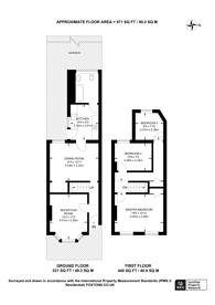 Large floorplan for Ranelagh Road, East Ham, E6