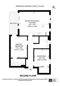 Large floorplan for Offord Street, Islington, N1