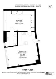 Large floorplan for Lower Sloane Street, Chelsea, SW1W