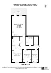 Large floorplan for Pell Street, Deptford, SE8