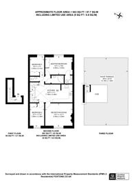 Large floorplan for Holland Road, Kensington, W14