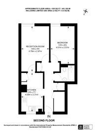 Large floorplan for Grove Lane, Denmark Hill, SE5