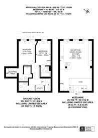 Large floorplan for Douglas Street, Westminster, SW1P