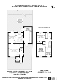 Large floorplan for Willow Road, New Malden, KT3