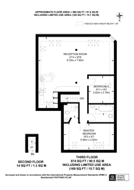 Large floorplan for Gipsy Road, Gipsy Hill, SE27