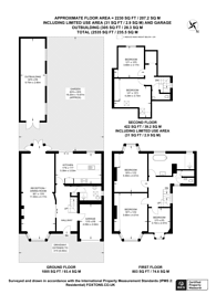 Large floorplan for Anson Road, Willesden, NW2