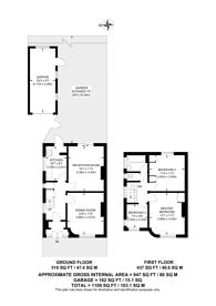 Large floorplan for Kingshill Drive, Belmont, HA3