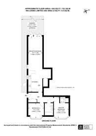 Large floorplan for Whitehorse Lane, South Norwood, SE25