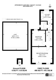 Large floorplan for Canterbury Road, Croydon, CR0