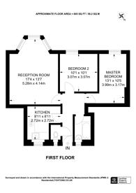 Large floorplan for Homerton Road, Homerton, E9