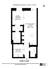 Large floorplan for Strand, Covent Garden, WC2R