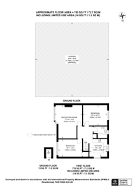 Large floorplan for The Avenue, Wembley Park, HA9