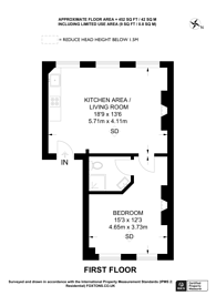 Large floorplan for Camden High Street, Camden, NW1