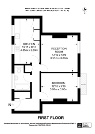 Large floorplan for Pearce House, Clapham Park, SW2