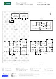 Large floorplan for Autumn Walk, Maidenhead, SL6