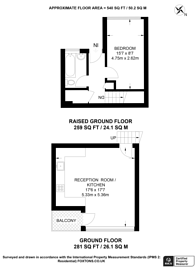 Large floorplan for Broxwood Way, St John's Wood, NW8