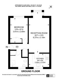 Large floorplan for Mangles Road, Guildford, GU1