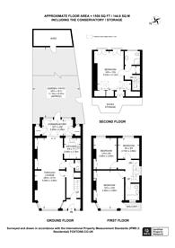 Large floorplan for Dudden Hill Lane, Dollis Hill, NW10