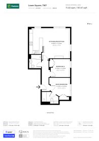 Large floorplan for Osprey House, Lower Square, Isleworth, TW7