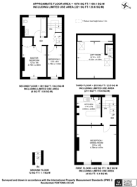 Large floorplan for Merton Road, Wandsworth, SW18