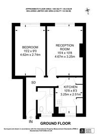 Large floorplan for Philip Street, Plaistow, E13