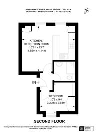 Large floorplan for Dorset Street, Marylebone, W1U