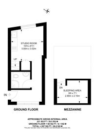 Large floorplan for Linden Gardens, Notting Hill, W2