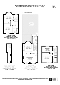 Large floorplan for Clapton Square, Hackney, E5