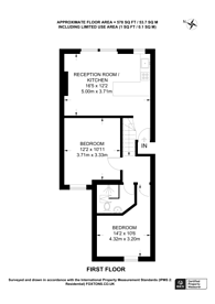 Large floorplan for Kingswood Road, Brixton Hill, SW2