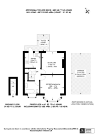Large floorplan for Westview Close, Neasden, NW10