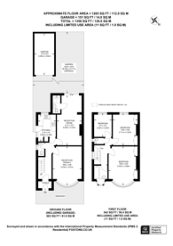 Large floorplan for Sherrick Green Road, Willesden Green, NW10