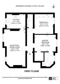 Large floorplan for Pater Street, Kensington, W8