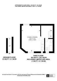 Large floorplan for Ormond Yard, St James's, SW1Y