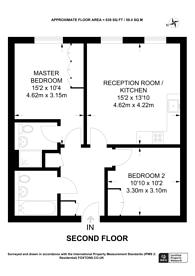 Large floorplan for Erickson Gardens, Bromley, BR2