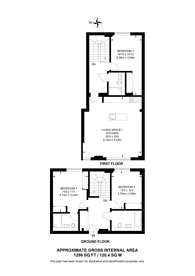 Large floorplan for The Ram Quarter, Earlsfield, SW18