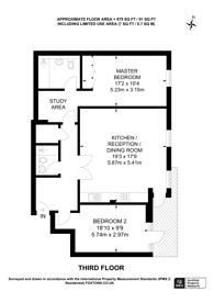 Large floorplan for Pimlico Place, Victoria, SW1V
