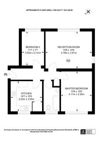 Large floorplan for Bowrons Avenue, Wembley, HA0