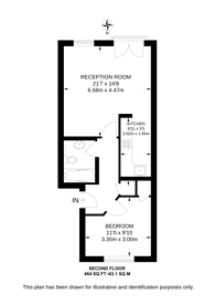 Large floorplan for Netley Street, Camden, NW1