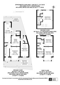 Large floorplan for Keswick Gardens, Wembley, HA9