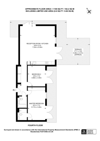 Large floorplan for Cline Road, Bounds Green, N11