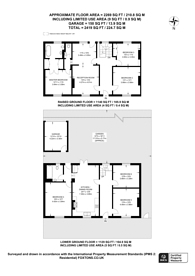 Large floorplan for Church Road, Crystal Palace, SE19