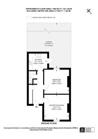 Large floorplan for Newent Close, Peckham, SE15