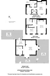 Large floorplan for Limerston Street, Chelsea, SW10