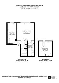 Large floorplan for Rosebery Avenue, Islington, EC1R