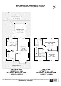 Large floorplan for Fern Lane, Hounslow, TW5
