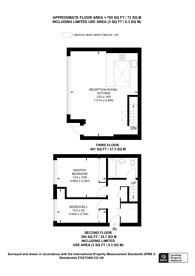 Large floorplan for Chandos Way, Golders Green, NW11