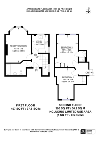 Large floorplan for Finchley Road, Hampstead, NW2