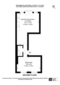 Large floorplan for Cowper Street, Shoreditch, EC2A